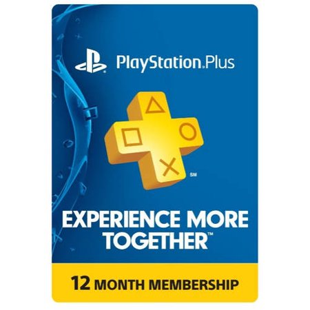 PlayStation Plus: 12 Month Membership [Instant Digital Delivery]