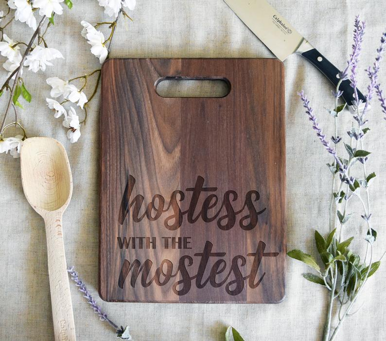Hostess With the Mostess Rectangular Board