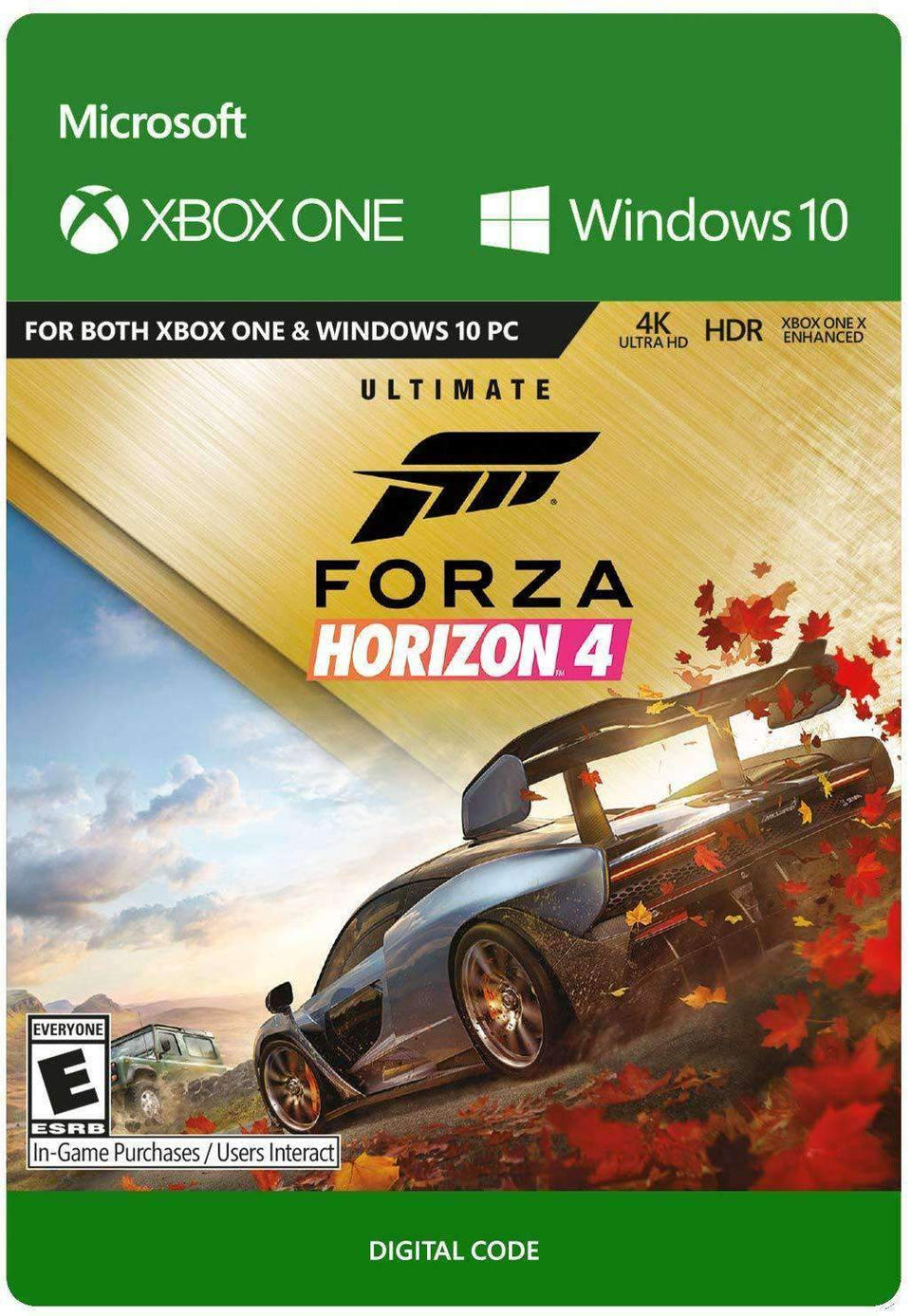 Forza Horizon 4: Ultimate Edition Xbox One / Windows 10 [Digital Code]