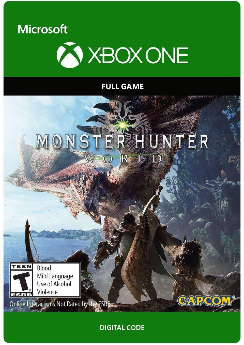 Monster Hunter: World Xbox One [Digital Code]