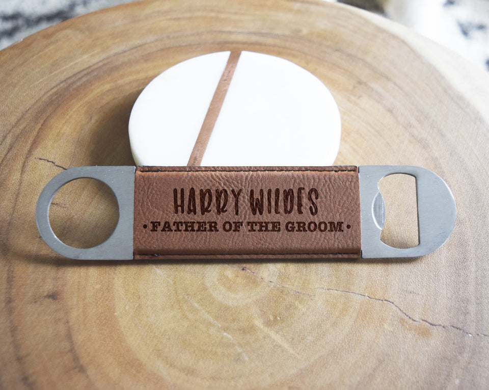 Father of the Groom Bottle Opener