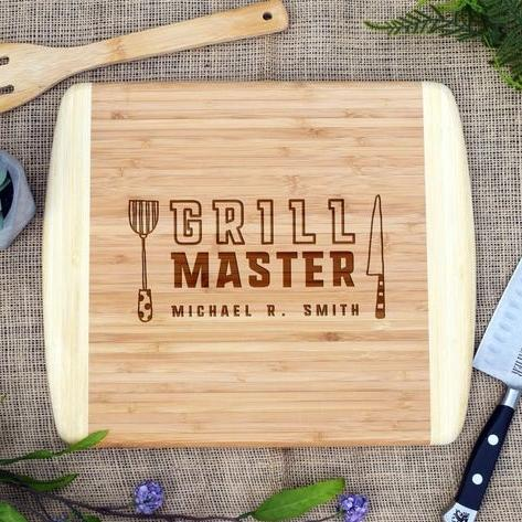 Grill Master Two Tone Cutting Board