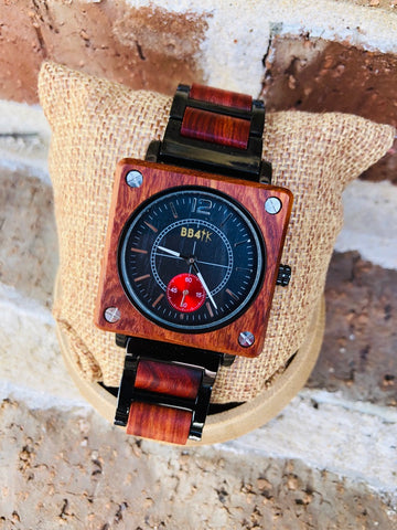 W19 LIMITLESS-ROSEWOOD SQUARE  WATCHES