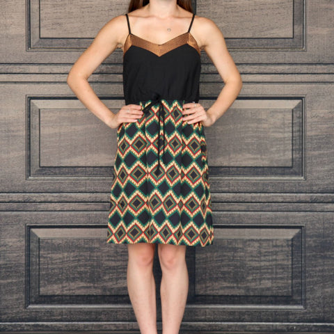 """Zara"" Tribal Print Dress"
