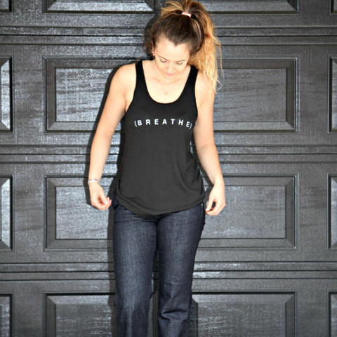 """Breathe"" goodhYouman Tank Top"