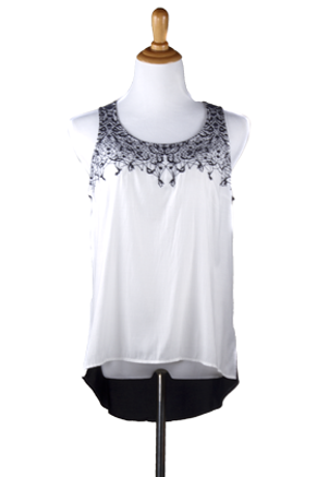 """Randi"" Embroided Top"