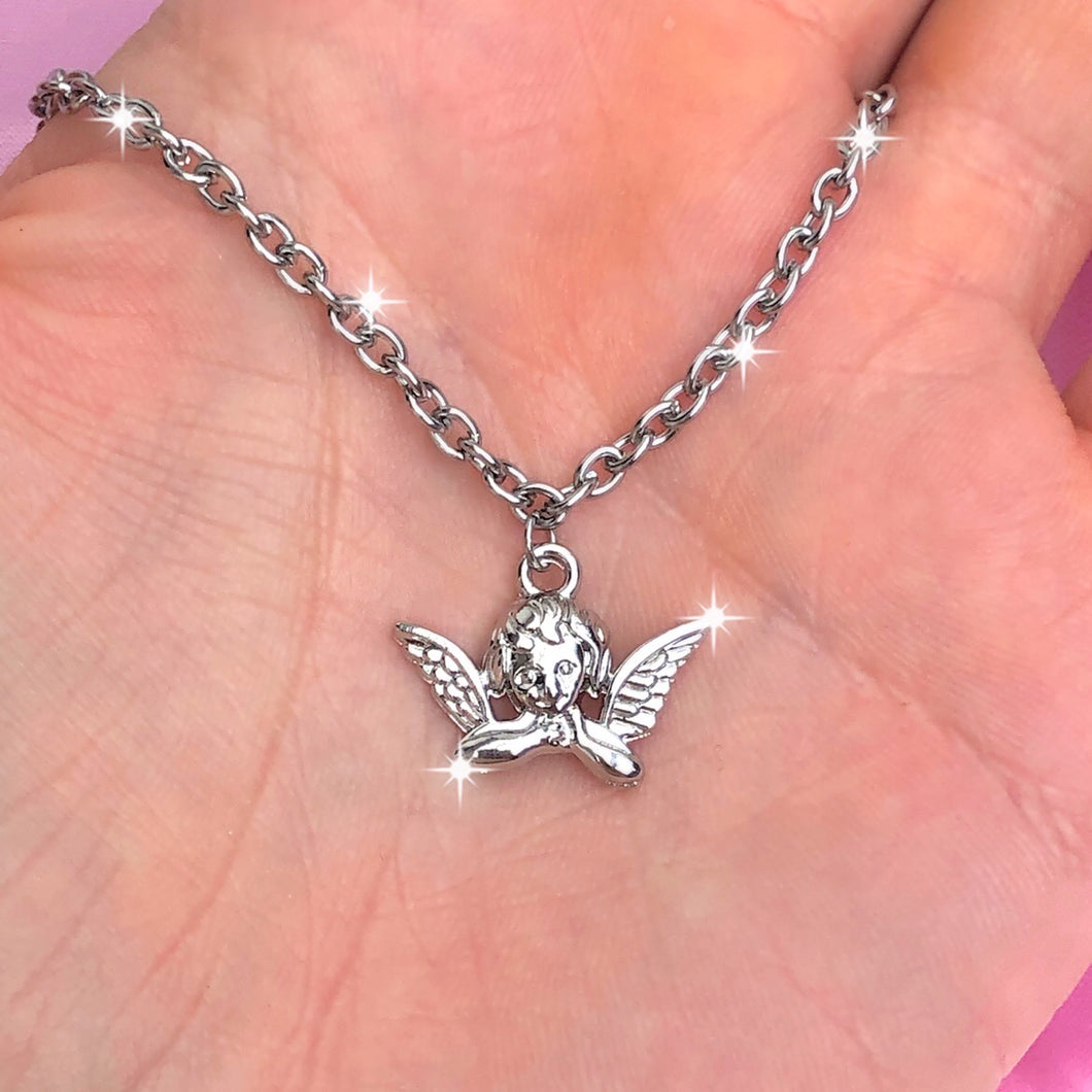 ANGEL CHERUB NECKLACE