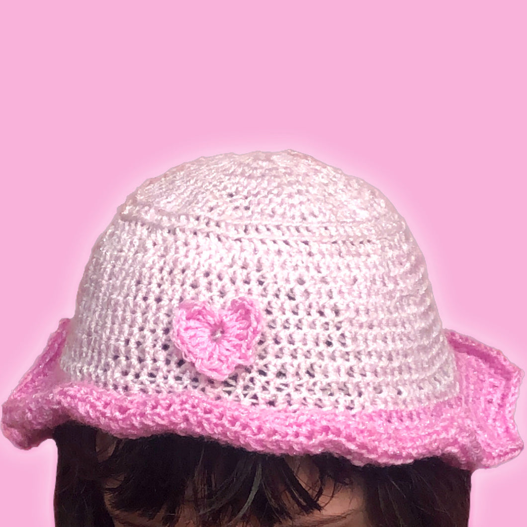 Love Heart Bucket Hat
