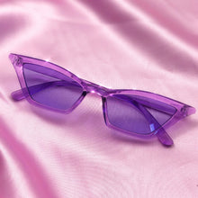 Load image into Gallery viewer, Purple Cat Eye Sunglasses