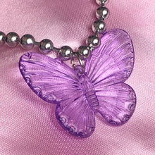 Load image into Gallery viewer, PURPLE BUTTERFLY CHOKER