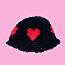 Load image into Gallery viewer, LOVE HEART BUCKET HAT