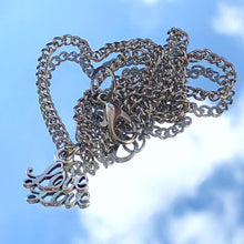 Load image into Gallery viewer, Delicate LOVE Necklace