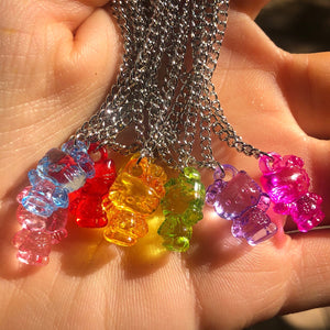 COLORFUL HELLO KITTY NECKLACE