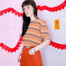 Load image into Gallery viewer, Striped Vintage Tee