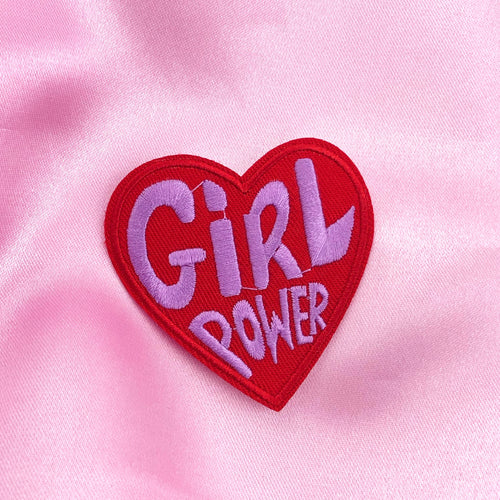 GIRL POWER Iron On Patch
