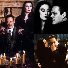 Load image into Gallery viewer, GOMEZ & MORTICIA ADDAMS Pinback Buttons