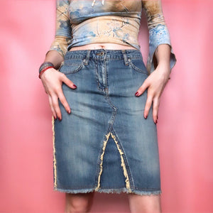 Y2K DENIM SKIRT