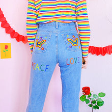 Load image into Gallery viewer, PipPi LoNgStOcKiNg Flower Power Pants