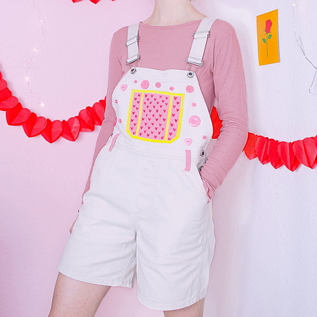 Hand Painted CUTIE Overalls