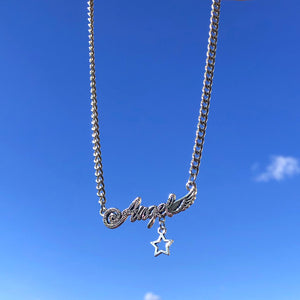 Angel Star Choker Necklace