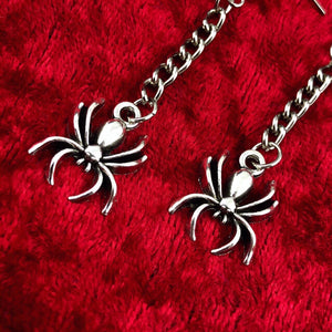 Spider Chain Earrings