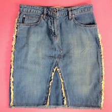 Load image into Gallery viewer, Y2K DENIM SKIRT