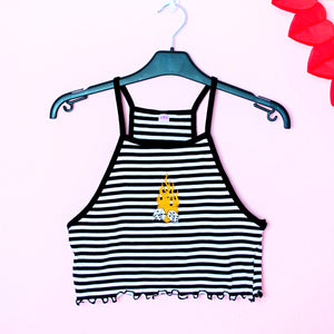 ROLL THE DICE Striped Top