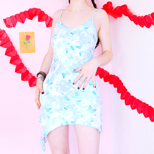 Y2K Butterfly Tie Dye Dress