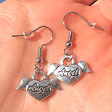 Load image into Gallery viewer, ANGEL HEART EARRINGS