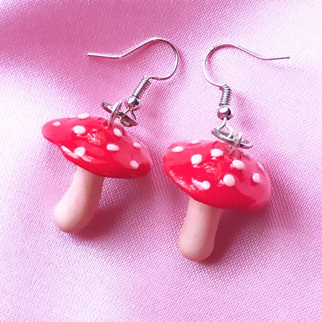 Trippy Shroom Earrings