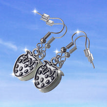 Load image into Gallery viewer, STRAWBERRY DANGLE EARRINGS