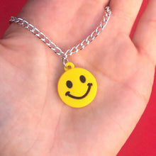 Load image into Gallery viewer, Smiley Face Necklace
