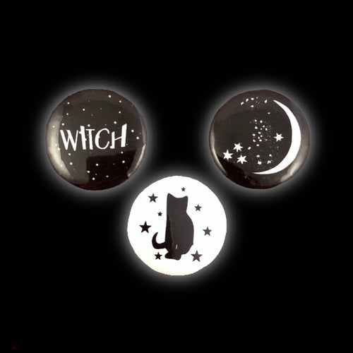 WITCH Pinback Buttons