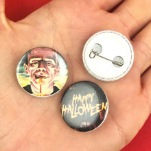 Load image into Gallery viewer, HALLOWEEN PINBACK BUTTONS