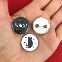 Load image into Gallery viewer, WITCH Pinback Buttons