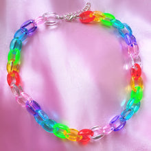 Load image into Gallery viewer, CHUNKY RAINBOW CHOKER