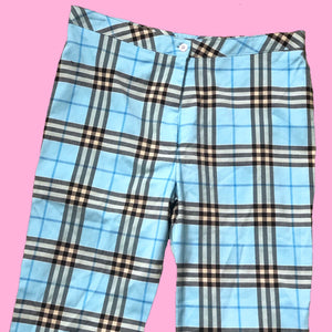 LATE 90s / EARLY 2000s PLAID PANTS