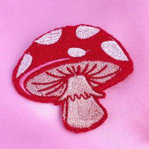 MUSHROOM Iron On Patch
