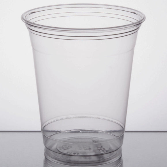 Dart Solo UltraClear TP12S 12 oz. Clear PET Plastic Squat Cold Cup - 1000/Case