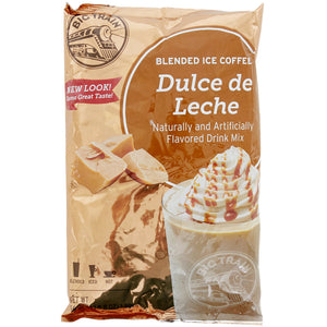 Big Train 3.5 lb. Dulce de Leche Blended Creme Frappe Mix