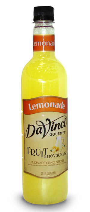 Davinci Fruit Innovations Syrup: Lemonade Concentrate - 750 ml. Plastic Bottle