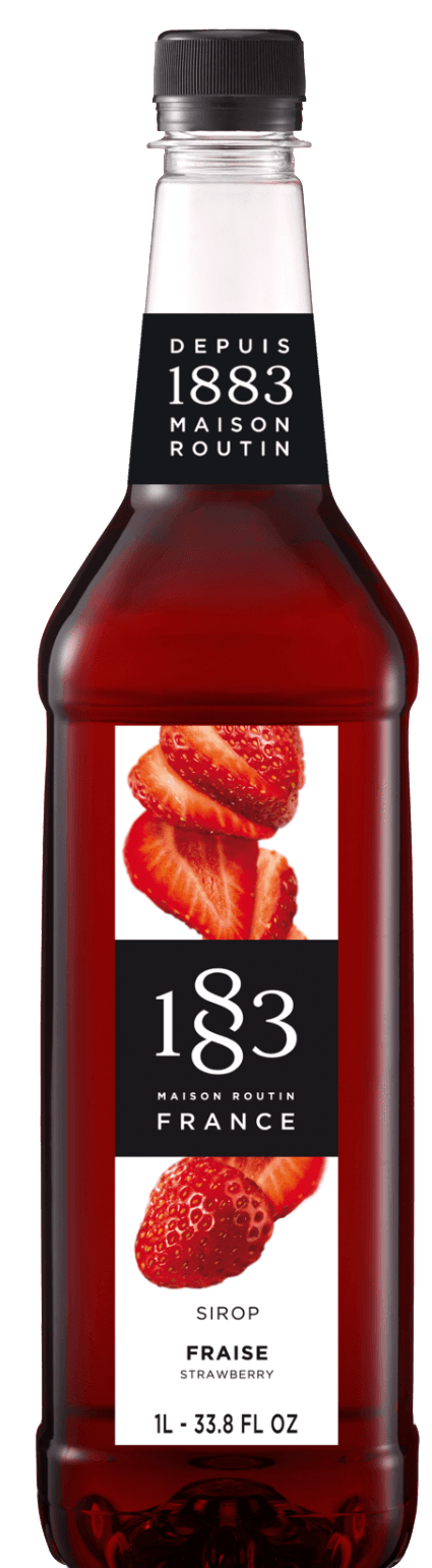 ROUTIN 1883 SYRUP - STRAWBERRY