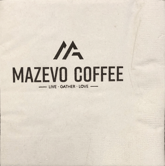 Grey Mazevo Coffee Napkins
