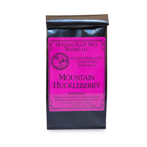 Mountain Huckleberry - 24pk - Montana Tea & Spice
