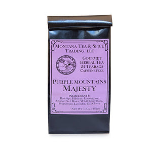 Purple Mountain Majesty - 24pk - Montana Tea & Spice