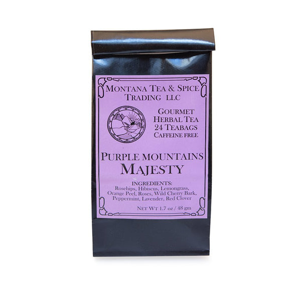 Purple Mountain Majesty - 50pk - Montana Tea & Spice