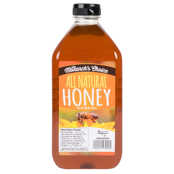 Monarch's Choice 5 lb. All Natural Honey