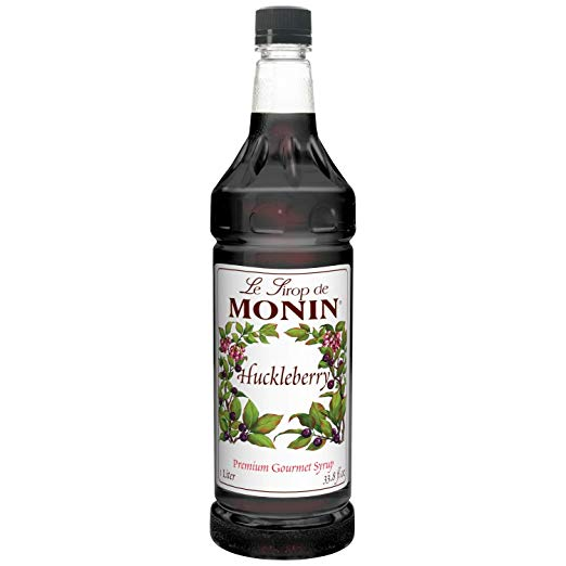 Monin Syrup - Huckleberry 33.8oz (1 Liter)