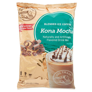 Big Train 3.5 lb. Kona Mocha Blended Ice Coffee Mix - (Case of 5)