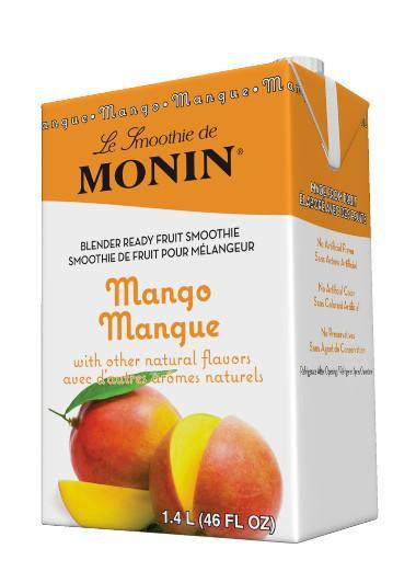 MONIN SMOOTHIE - MANGO (Case of 6)